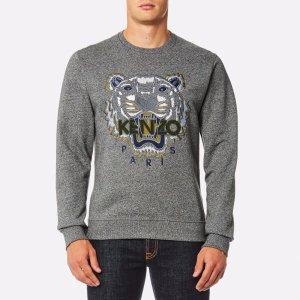 KENZO Men's Classic Icon Sweatshirt - Anthracite