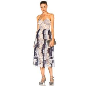 SHOP BY CATEGORY self-portrait Camellias Dress