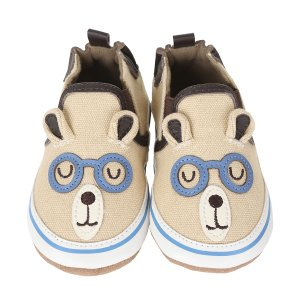 Brainy Bear Baby Shoes | Robeez
