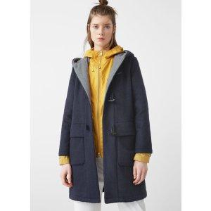 Wool-blend duffle coat - Women | OUTLET USA
