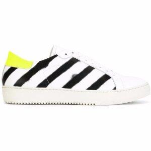 Off-White Diagonal Spray Sneakers - Farfetch