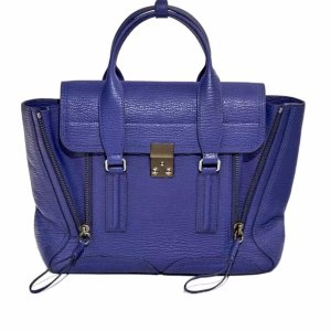 3.1 Phillip Lim Pashli Medium Satchel | Blue&Cream