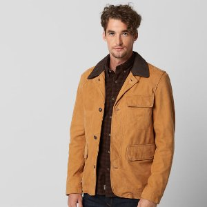 Timberland | Men's Mt. Doublehead Water-Resistant Leather Jacket
