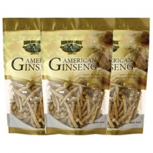 American Ginseng Prong Medium 8oz bag x 3