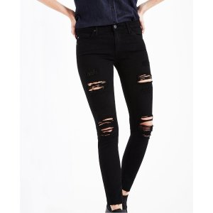 The Legging Ankle In Darkest Night Skinny Jeans