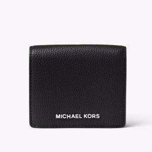 Bedford Leather Card Holder   Michael Kors