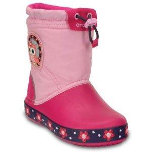 Kids' CrocsLights LodgePoint Night Owl Boot