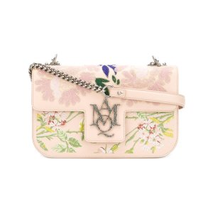 Alexander McQueen Insignia Embroidered Satchel -