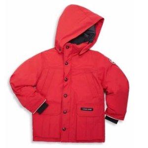 低至8折 $199.99起 大人也能穿补货:Canada Goose 大童款式羽绒马甲,羽绒服热卖