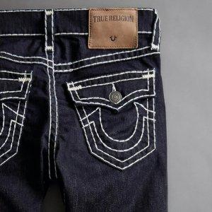 额外7.5折True Religion 服装及牛仔裤热卖