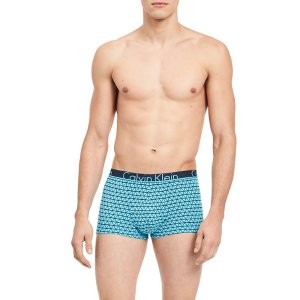 ck id cotton low rise trunk | Calvin Klein