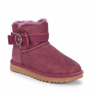 Karlie Brooch Suede Boots