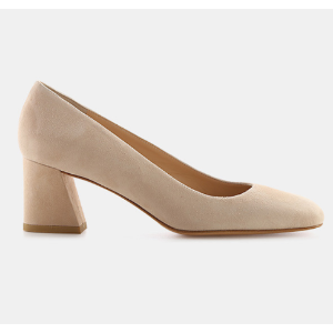Mary Suede Pump Heels | ELEVTD Free Shipping & Returns
