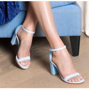 Walkway Block Heel Sandals - Shoes | Shop Stuart Weitzman