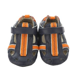 Rugged Rob Baby Shoes, Navy | Robeez