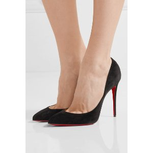 Christian Louboutin | Pigalle Follies 100 suede pumps