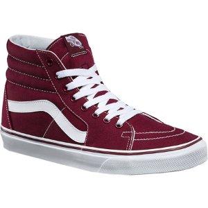 Vans Sk8-Hi Top Sneaker - (Canvas) Port Royale - FREE Shipping & Exchanges