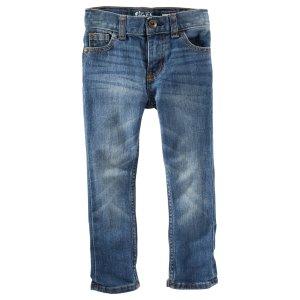 小童窄身牛仔裤