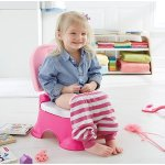 Fisher-Price Stepstool Potty, Pink Princess