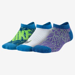 Nike Graphic No-Show Big Kids' Socks (3 Pair). Nike.com