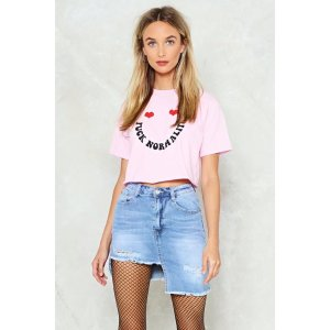 Shed a Tear Denim Skirt | Shop Clothes at Nasty Gal!