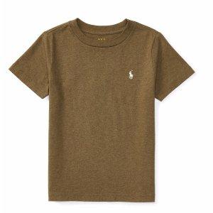Cotton Jersey Crewneck Tee - Tees � Tees & Sweatshirts - RalphLauren.com