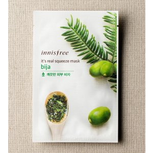 SKIN CARE - It's real squeeze mask - bija | innisfree