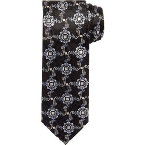 Signature Medallions with Pines Tie CLEARANCE - Ties | Jos A Bank