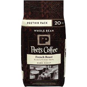 $5.01Peet's Peetnik Pack French Roast Whole Bean Coffee 20oz