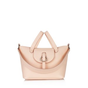 meli melo Rose Thela Leather Satchel | Bloomingdale's