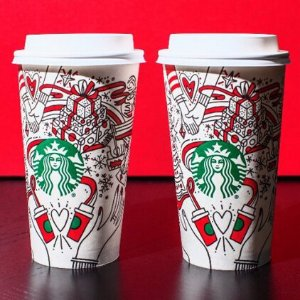 Buy 1 get 1 freeStarbucks Holiday Drinks