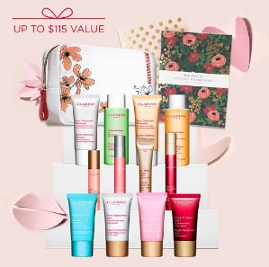 Choose your Deluxe 6-Piece Gift Celebrate Mother's Day @ Clarins
