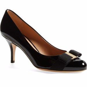 Salvatore Ferragamo 'Carla' Patent Leather Pump (Women) | Nordstrom