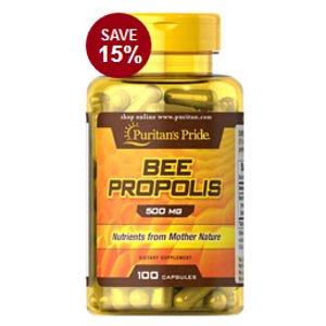 紫色黄金:天然蜂胶 500 mg 粒