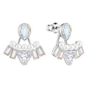 Festivity Pierced Earring Jackets - USA - Swarovski Online Shop