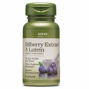 GNC HERBAL PLUS® BILBERRY EXTRACT & LUTEIN