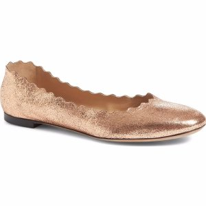 Chloé 'Lauren' Scalloped Ballet Flat (Women)   Nordstrom