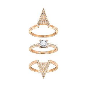 Funk Ring Set - Jewelry - Swarovski Online Shop