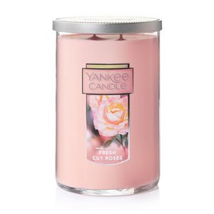 Fresh Cut Roses Large 2-Wick Tumbler Candles - Yankee Candle