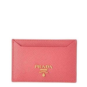 PRADA Prada Saffiano Leather Cardholder