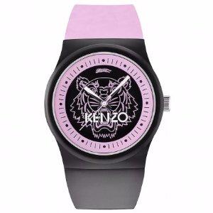 Kenzo Designer Black and Pink Womens Watch   Unineed   Premium Beauty & Fashion