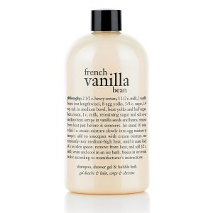 french vanilla bean | shampoo, shower gel & bubble bath | philosophy bath & shower gels