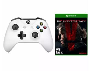 $39.99Xbox One S Wireless Controller + Metal Gear Solid V: Phantom Pain Bundle