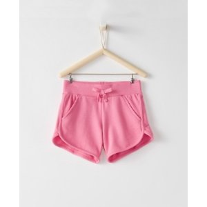 Girls Simple Shorts In French Terry from Hanna Andersson