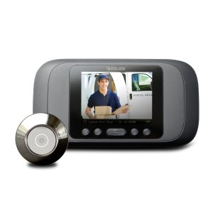 20%OFFNew Release! Eques Digital Door Viewer - LCD Security Camera Monitor with Video Record Photo Shooting Function