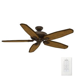 Casablanca Fellini 60 in. Indoor Provence Crackle Bronze Ceiling Fan with Remote-55036 - The Home Depot