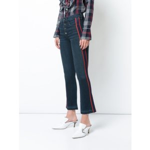 Veronica Beard - Carolyn Ribbon Trim Jeans | Kirna Zabete