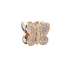 PANDORA Rose™ CZ Sparkling Butterfly Charm