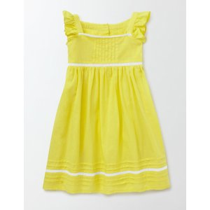 Lace Insert Dress 33556 Day Dresses at Boden