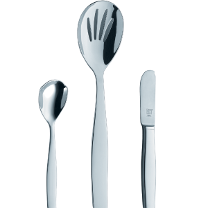 ZWILLING J.A. Henckels Vela 3-pc 18/10 Stainless Steel Flatware Completer Set - Visual Imperfections